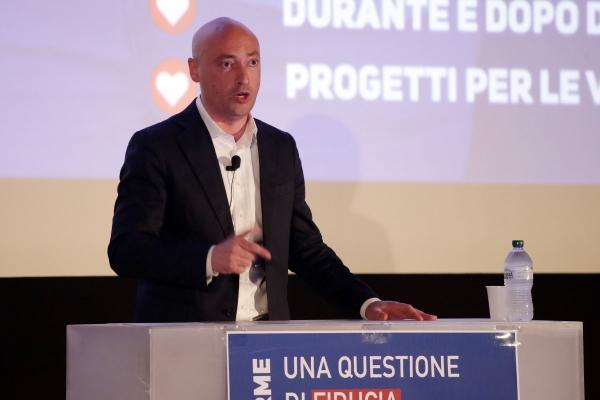 In 400 all'Imperiale, grande entusiasmo per il candidato Ennio Rucco: